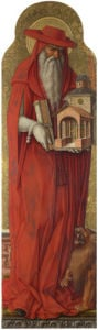 Saint Jerome by Carlo Crivelli