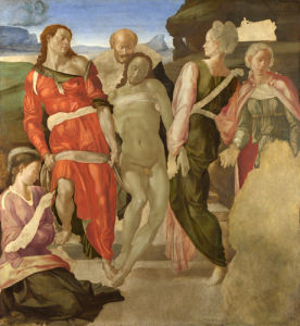 The Entombment by Michelangelo