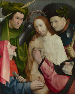 Christ Mocked (The Crowning with Thorns) by Hieronymus Bosch