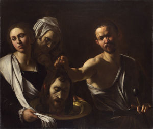 Salome receives the Head of John the Baptist by Michelangelo Merisi da Caravaggio