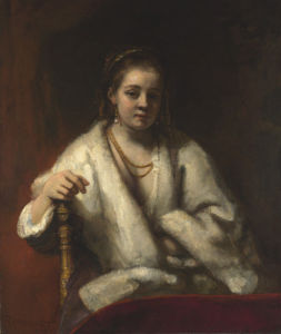 Portrait of Hendrickje Stoffels by Rembrandt