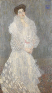Portrait of Hermine Gallia by Gustav Klimt