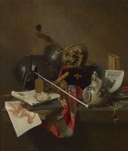 Vanitas Still Life by Jan Jansz Treck