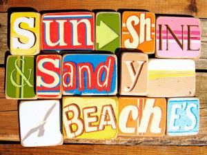 Sunshine And Sandy Beaches by Norfolk Boy