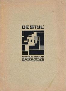 De Styl Front Cover by Vilmos Huszor