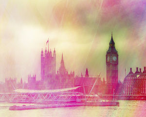 London Morning by Keri Bevan