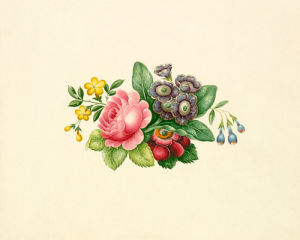 Floral Arrangement by Antoine Toussaint de Chazal