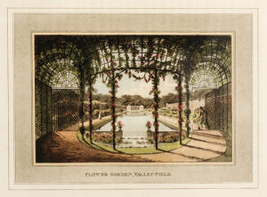 Flower Garden, Valley-Field by Humphry Repton