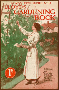 Lloyd's Gardening Book Cover by Lloyd's Weekly News