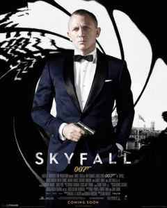 James Bond - Skyfall (Black) by Anonymous