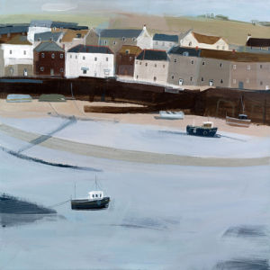 Mousehole Harbour 1 by Hannah Cole
