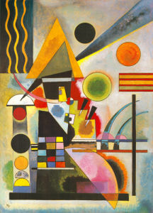 Swinging by Wassily Kandinsky