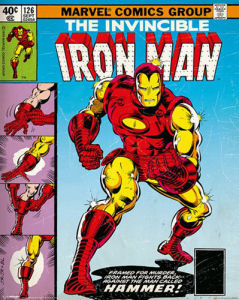 Iron Man - Cover by Marvel Comics