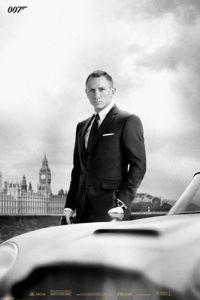 Bond & DB5 - Skyfall by Anonymous