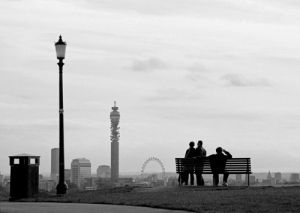 Primrose Hill view by Niki Gorick