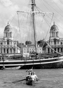 The Great Boat Race, Greenwich by Niki Gorick