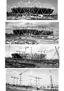 Building the Olympic Stadium by Niki Gorick