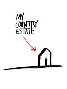 My Country Estate by Stephen Anthony Davids
