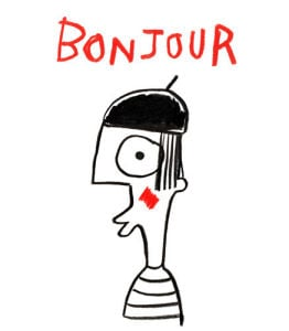 Bonjour by Stephen Anthony Davids