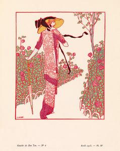 Une rose parmi les roses by Gazette du Bon Ton