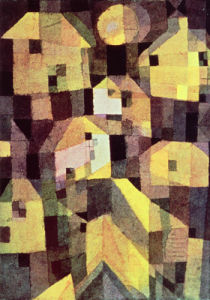 Abstract Composition of Houses by Paul Klee