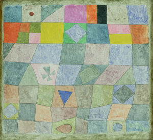 Friendly Game 1933 by Paul Klee