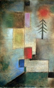 Small Picture of Fir Trees 1922 by Paul Klee