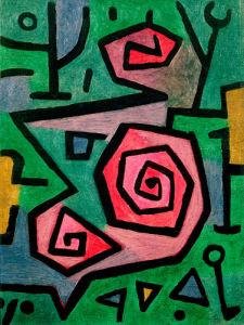 Heroic Roses 1938 by Paul Klee