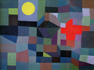 Fire, Full Moon 1933 by Paul Klee
