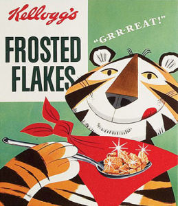 Vintage Kelloggs - Frosted Flakes by Anonymous