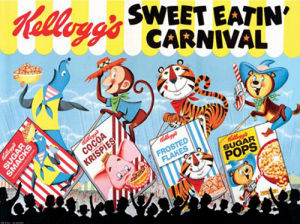 Vintage Kelloggs - Sweet Eatin' Carnival by Anonymous