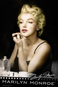 Marilyn Monroe - Lipstick by Anonymous