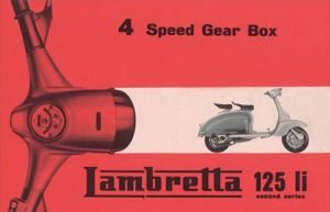 Lambretta 125 Li  4 Speed Gear Box by Anonymous