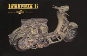 Lambretta Li - Cutaway by Anonymous