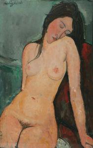 Female nude by Amedeo Modigliani