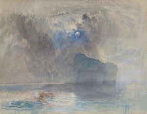 On Lake Lucerne looking towards Fluelen by Joseph Mallord William Turner