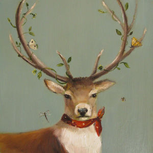 Portrait of a Country Squire by Janet Hill