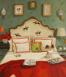 Red Roses and Dark Horses by Janet Hill