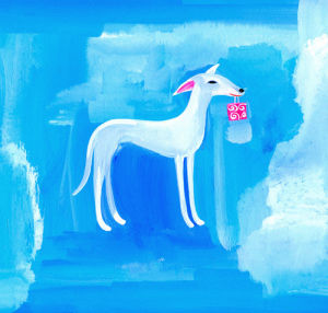 White Whippet by Christopher Corr