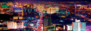 Las Vegas at Night by Andy Z