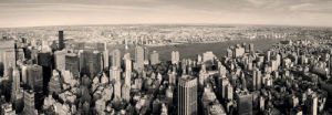 Manhattan Panorama at Sunset by Songquan Deng