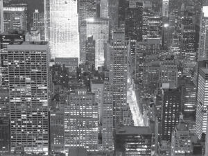 Night View of New York by Paola Giannoni