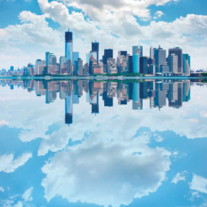 Lower Manhattan Reflection by pio3