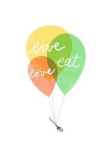 Live Love Balloons by Ana Zaja Petrak