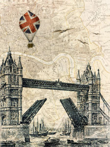 Tower Bridge Balloon by Marion McConaghie