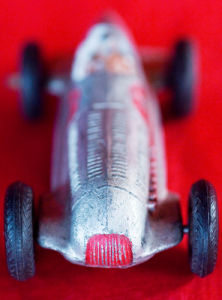 Mercedes Racer - Portrait by Kim Sayer