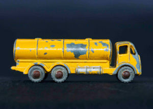 Battered Tanker by Kim Sayer