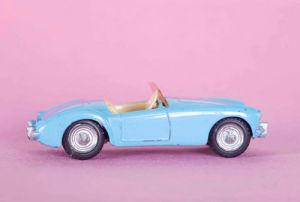 MG Sports Car by Kim Sayer