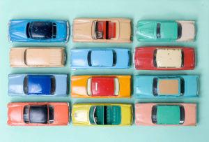 American Cars by Kim Sayer