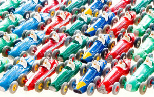 Racing Cars by Kim Sayer